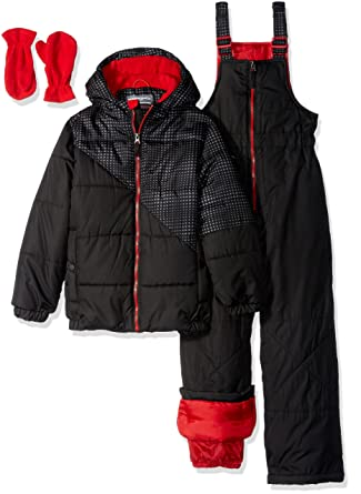 0871fbd95 Amazon.com  Hawke   Co. Little Boys  Toddler 2 Piece Snow Suit with ...