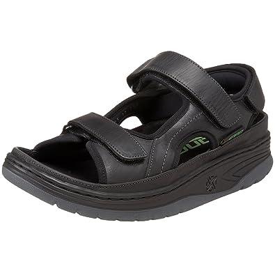 96377ee61cc Amazon.com   Mephisto SANO Men's Yoann Sandal, Black, 7 M US   Sandals