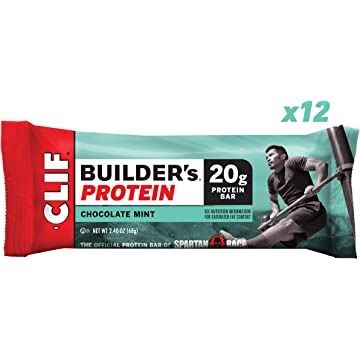 CLIF BUILDER'S - Protein Bar - Chocolate Mint -