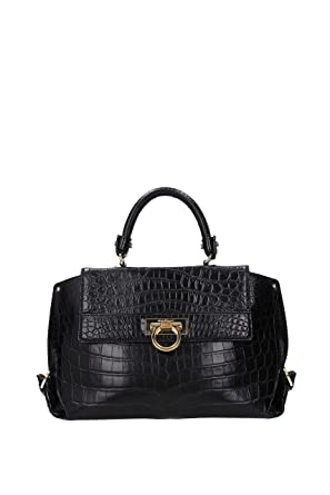 Handbags Salvatore Ferragamo sofia Women - Leather Crocodile (21A9900565638) eacd0170dd
