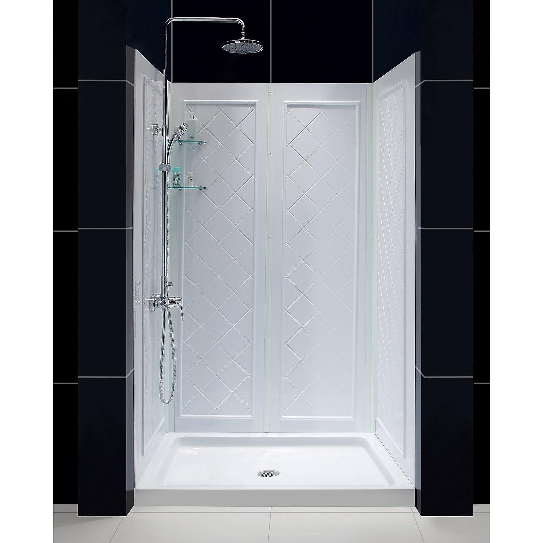 Dreamline Slimline 36 By 48 Shower Base And Qwall 5 Shower