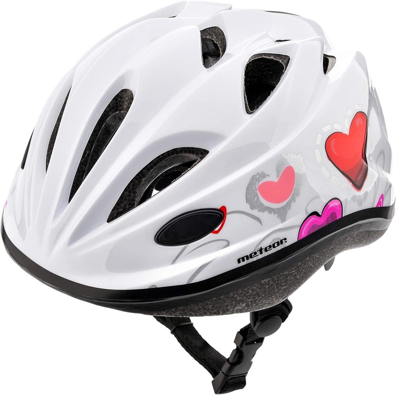 meteor Casco Bicicleta Bebe Helmet Bici Ciclismo para Niño - Cascos para Infantil - Bici Casco para Patinete Ciclismo Montaña BMX Carretera Skate Patines monopatines