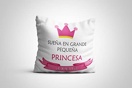 Cojín Bebe Recien Nacido Corona 100% Personalizado 30 x 30 cm ...