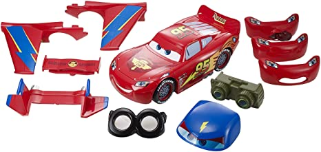 Amazon Com Disney Cars Design Drive Lightning Mcqueen Toys Games