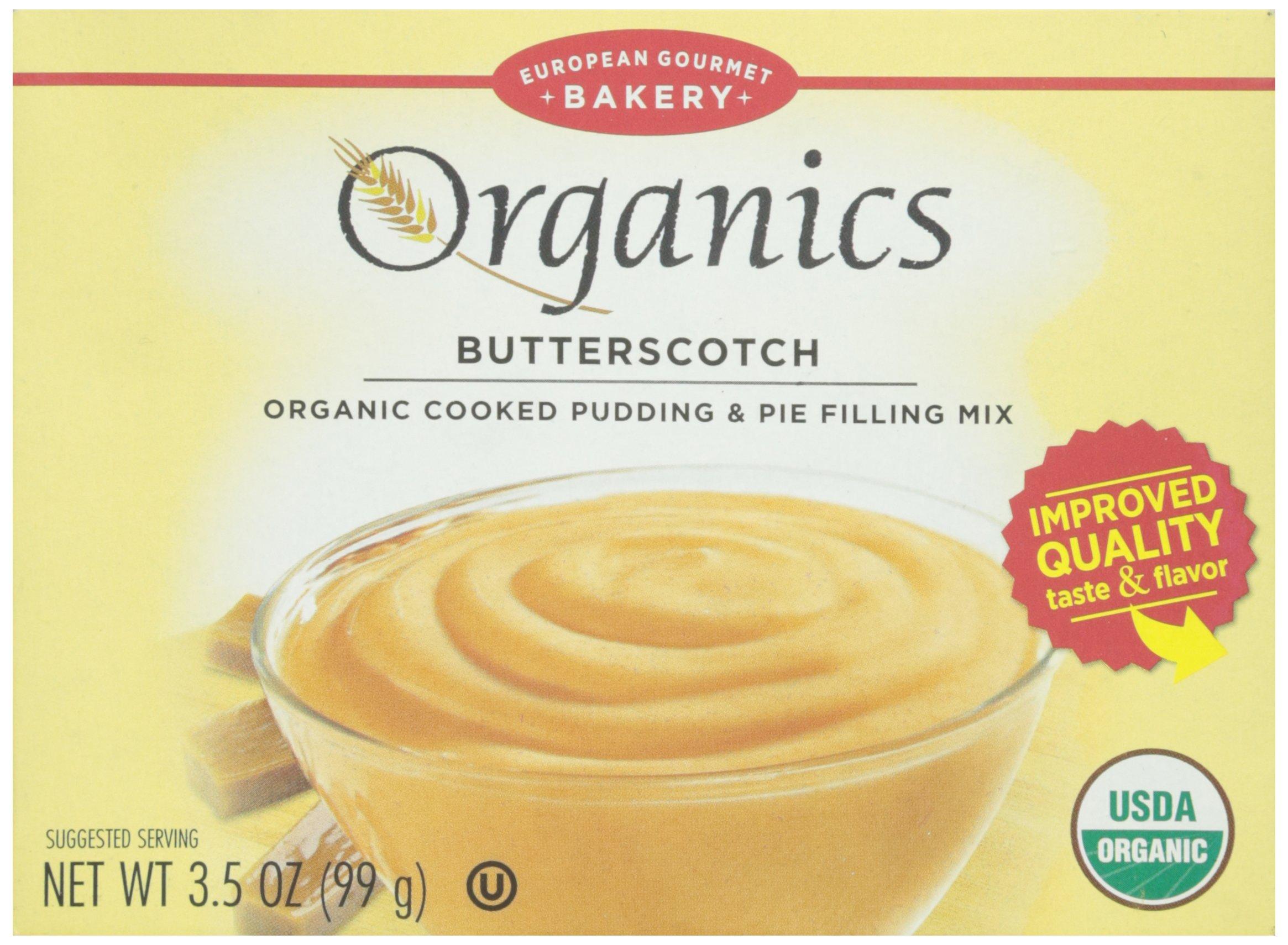 Dr. Oetker, Pudding Mix, Butterscotch, Organic, 3.5 oz