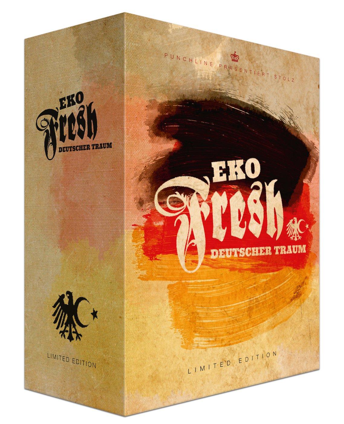 Deutscher Traum (Ltd. Fan Box inkl. 1000 Bars) - Eko Fresh: Amazon ...
