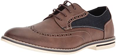 ce7818ed31 Unlisted by Kenneth Cole Men s Ozzie LACE UP Oxford Brown 7 ...