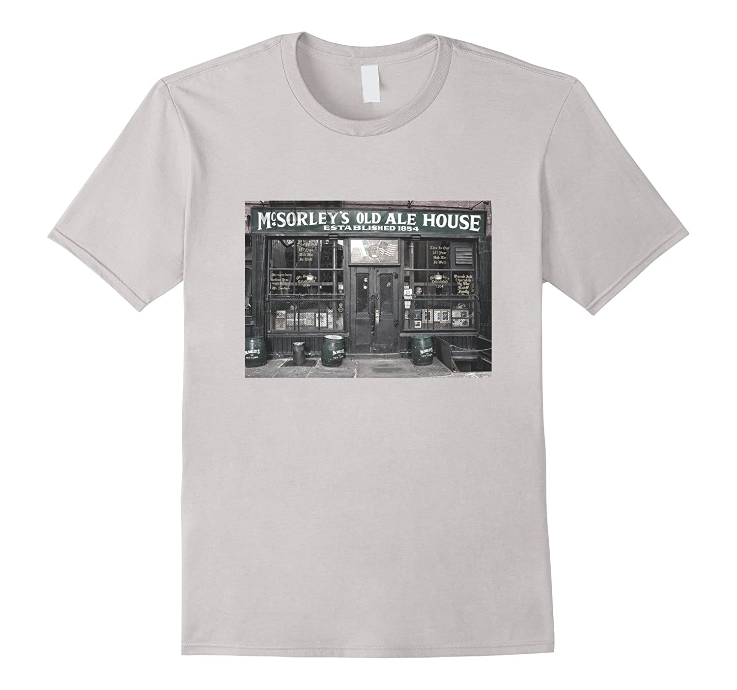 McSorleys Old Ale House Souvenir Vintage T-Shirt-FL