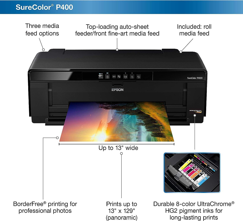Epson Stylus Photo R2000 Impresora inalámbrica de inyección de tinta a color de formato ancho (C11CB35201): Amazon.es: Electrónica