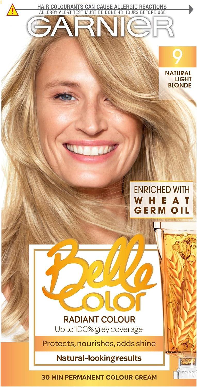 Garnier Belle Color Light Blonde 9 115 ml: Amazon.es: Belleza
