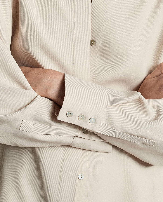 MASSIMO DUTTI 5172/786/990 - Camisa de Gemelo para Mujer ...