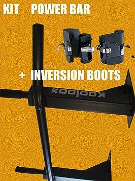 KIT tracción en barra Pull UP KOOLOOK Barra para tracciones + Botas de gravedad + GASTOS
