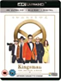 Kingsman: The Golden Circle [Blu-ray 4K +  Blu-ray + UV Copy] [2017]