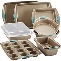 10-Piece Rachael Ray Cucina Nonstick Bakeware Set