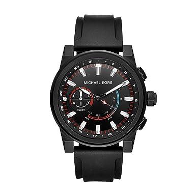Michael Kors Hombre Ionic Placa Grayson Hybrid - Reloj ...