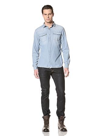 8eed8594a3 Amazon.com  Pierre Balmain Men s Western Shirt