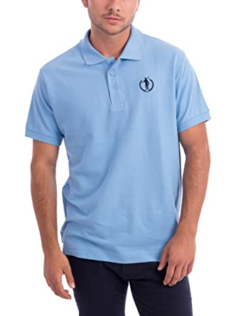 POLO CLUB Polo Original Small Player Azul Celeste M: Amazon.es ...