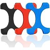 "Rancco® Shockproof disco duro de disco HDD silicona caso cubrir protector para disco duro externo Seagate Backup Plus, 2,5"" Toshiba Canvio Basics, Canvio Slim II disco duro externo portátil(3 paquete)"