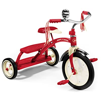 Radio Flyer 12-inch Classic Dual Deck Trike (Red): Toys & Games