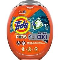 73-Count Tide Ultra Oxi Liquid Laundry Detergent Pacs