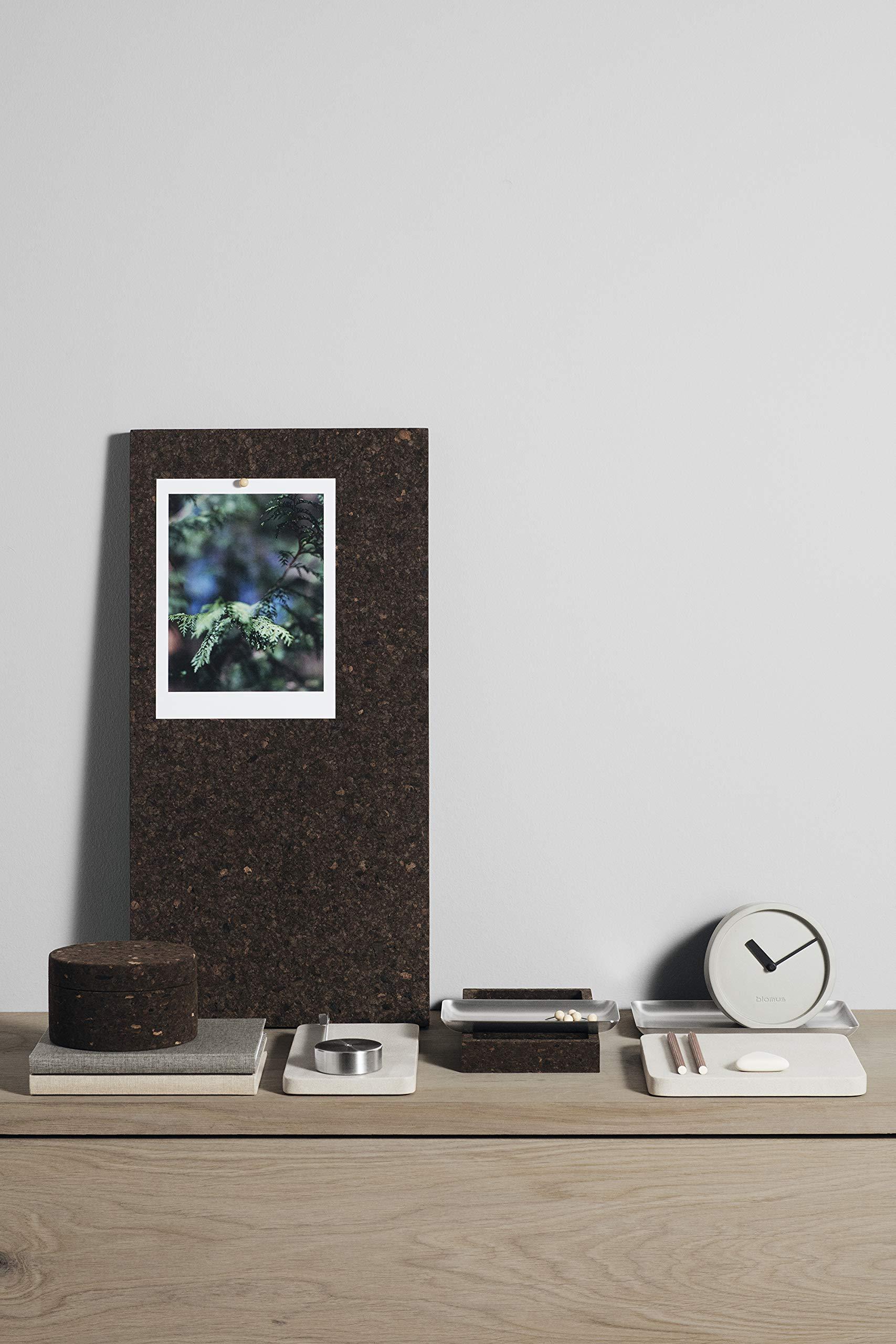 Blomus Fuado Smoked Cork Memo Notice Board (H x W x D) 30X60X2 cm