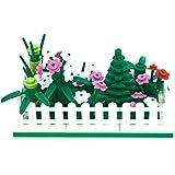 LEGO Mini Modular Fenced Tree and Flower Garden