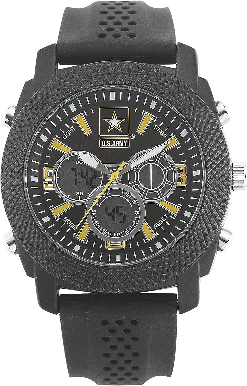 Wrist Armor Men s 37200003 U.S. Army C21 Analog-Digital Display Japanese Quartz Black Watch