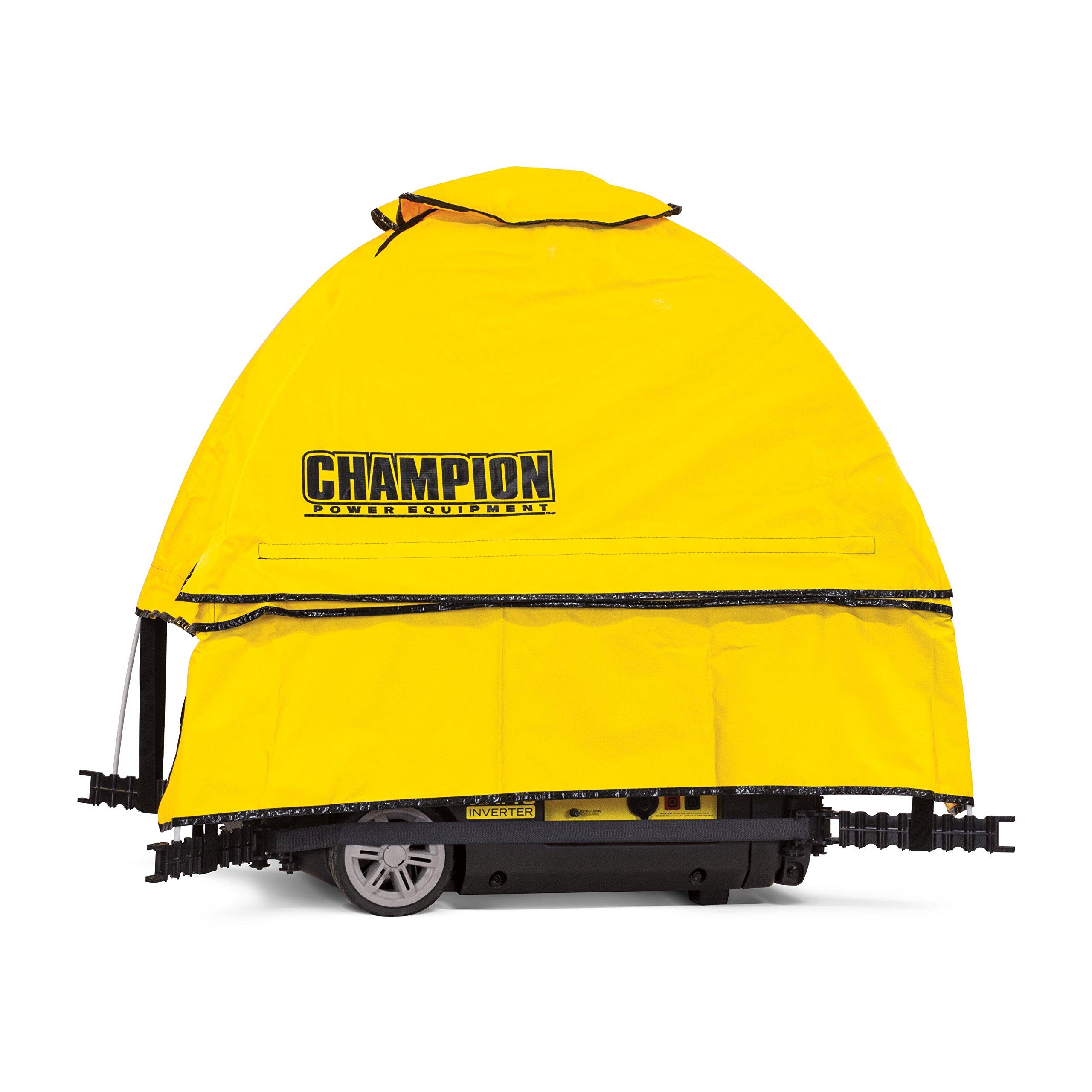 Champion Power Equipment 100603 Champion Portable Generator Cover, Yellow by Champion Power Equipment