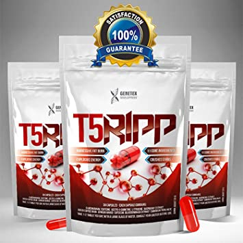 T5 Ripp Fat Burners Capsules Chromium Carb Blockers Extreme Weight Loss Pills Slimming Tablets