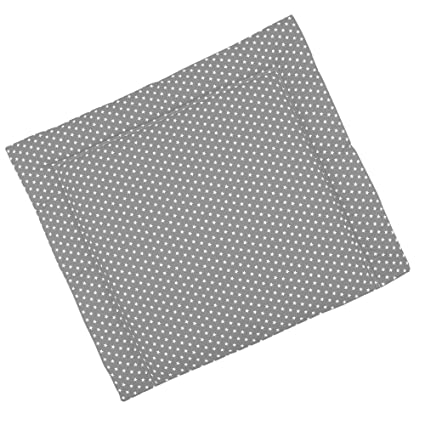 Sugarapple Wickelauflage 85 x 75 cm ca. 3 cm dick mit Oberstoff aus 100% Baumwolle, innen weich und warm wattiert, doppelt ab