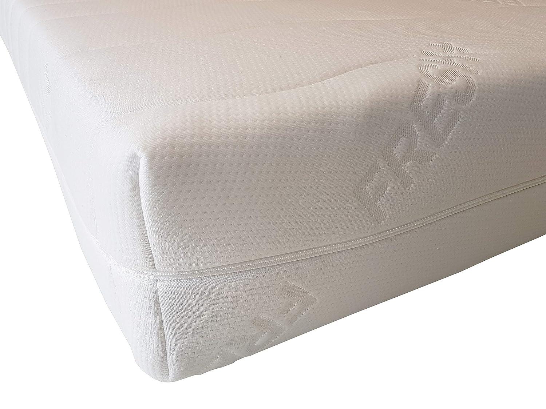 Unbekannt Fresh+ Matratzenbezug   Doppeltuch-Jersey   Allergikerfreundlich   Abnehmbar und Waschbar   mit 4-seitigem Reißverschluss   Matratzenschoner   Ersatzbezug (140 x 200 cm   Kernhöhe 13-16 cm)