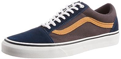 65c53a0def29 Vans Men s Old Skool Surplus Dress Blues and Blue Graphite Canvas Sneakers  - 11 UK
