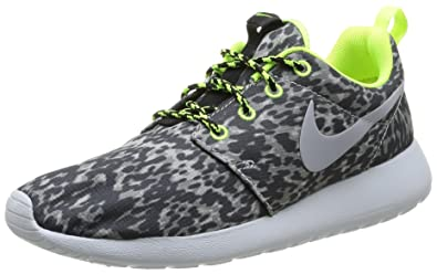 Nike Roshe Exécuter Amazone Sarcelle Gris