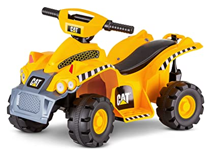 Battery Operated Ride On Toys >> Kid Trax Cat 6v Battery Powered Ride On Toy