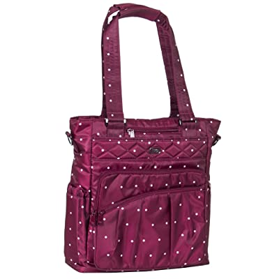 Lug Women's Ace Travel Tote, Cranberry Dot, One Size