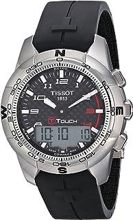 Tissot Mens T0474204720700 T-Touch II Black Digital Multi Function Watch