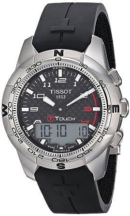 Tissot Hommes T0474204720700 T-Touch II Black Montre numérique multifonction