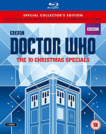 Doctor Who Christmas Cards.Doctor Who The 10 Christmas Specials Limited Edition Blu Ray