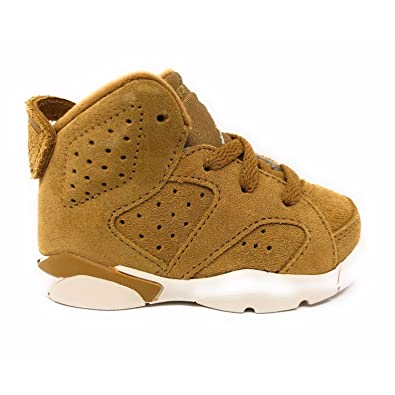 c6f51e2aa67c49 Nike Jordan 6 Retro BT Kids Golden Harvest 384667-705 (Size  4C)
