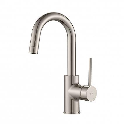 Kraus KPF-2600SS Modern Oletto Single Lever Kitchen Bar Faucet ...