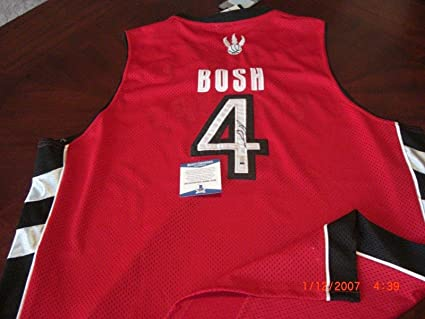 check out bbe10 5bcc1 Autographed Chris Bosh Jersey - Toronto Raptors W hologram ...