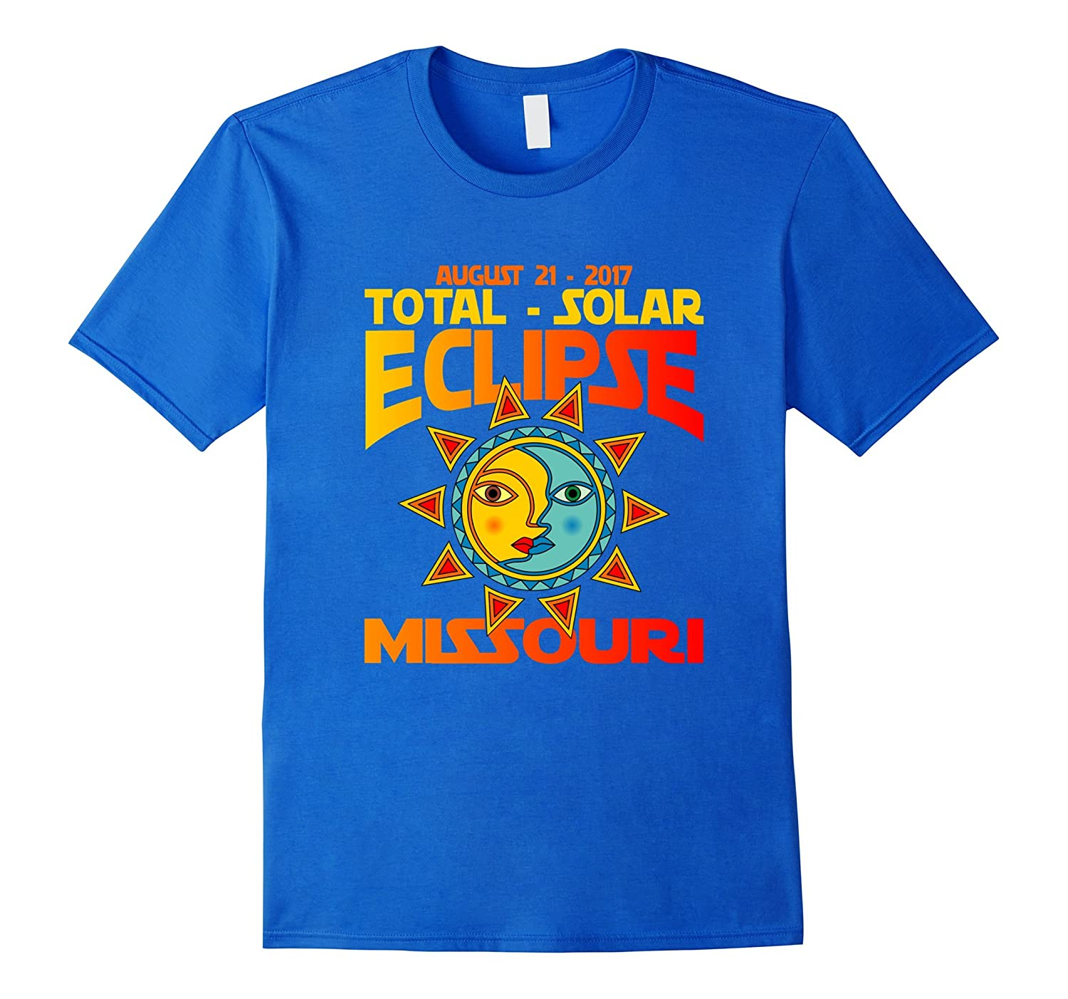 Missouri USA Total Solar Eclipse 2017 Sketch Art T-Shirt