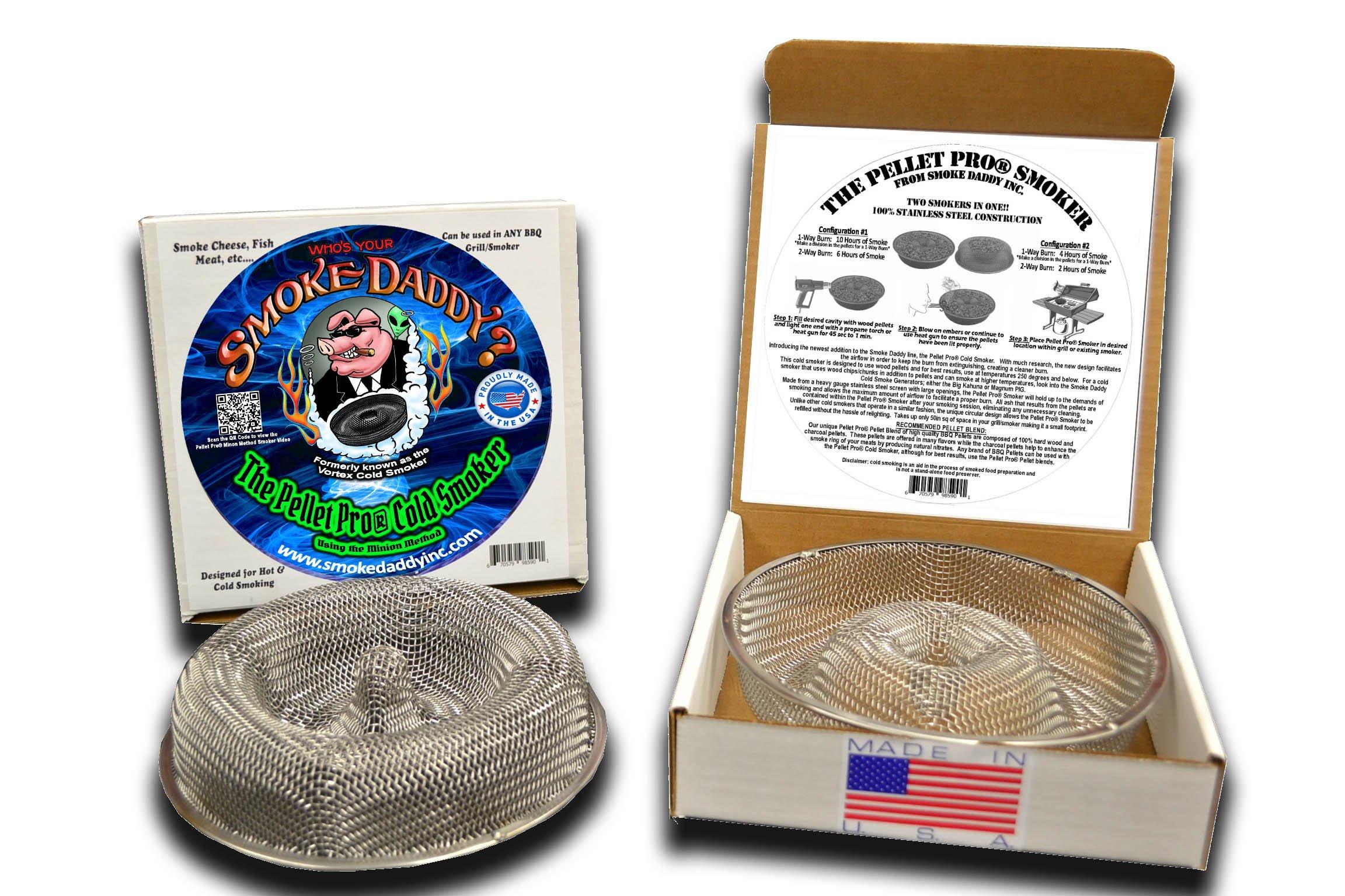 Forget the tube smokers THE NEW SMOKE RING - Circum = 25''or 16.5'' smoker 100% USA made