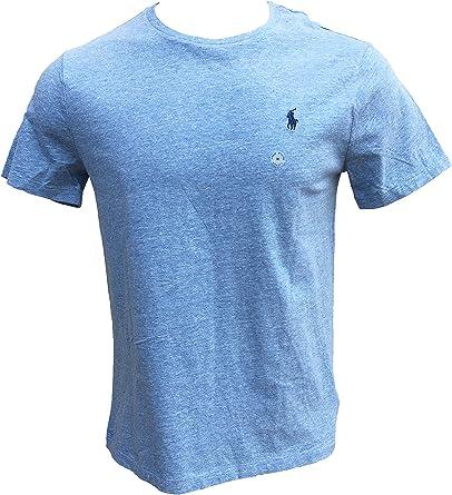 Polo Ralph Lauren - Camiseta de Cuello Redondo para Hombre - Azul ...