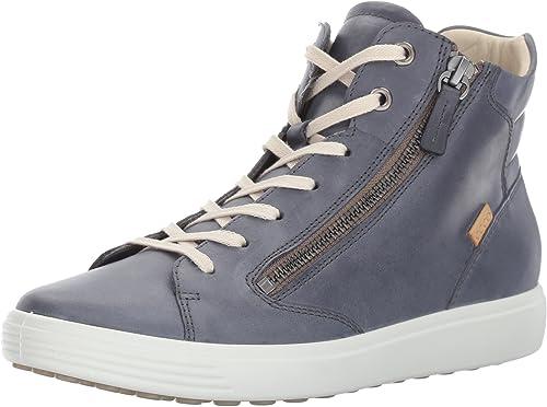 Soft 7 Zip High Top Fashion Sneaker