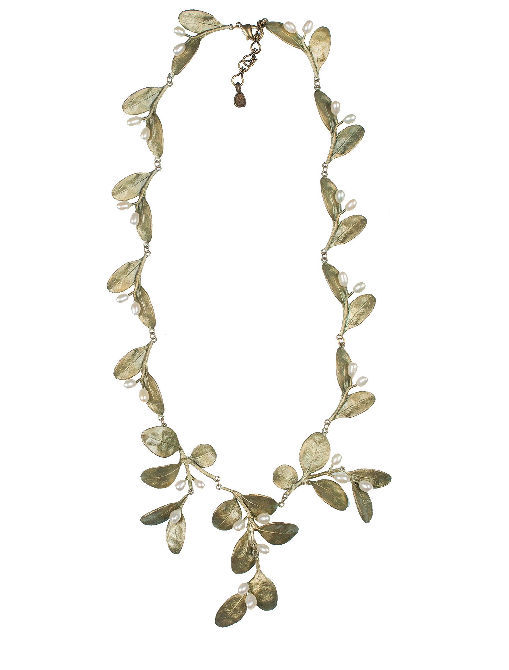 ''Boxwood'' Contour Necklace by Michael Michaud for Silver Seasons