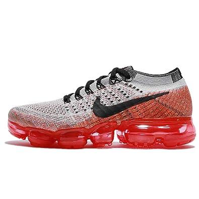 100% authentic 86e7b 4c2b3 Nike Womens WMNS Air Vapormax Flyknit Wolf Grey/Crimson Flyknit Size 10