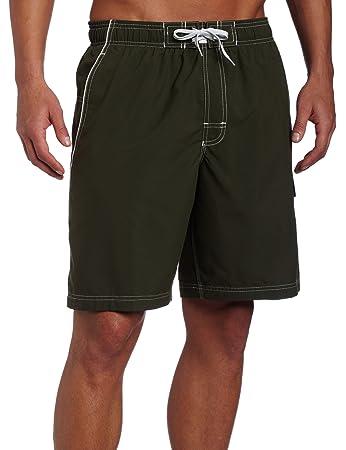 32d5c3322f Speedo Men's Solid Marina Volley Watershorts, Eco Green, Large ...