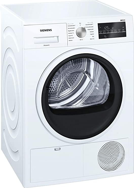 Siemens WT46G401 - Secadora (Independiente, Carga frontal ...