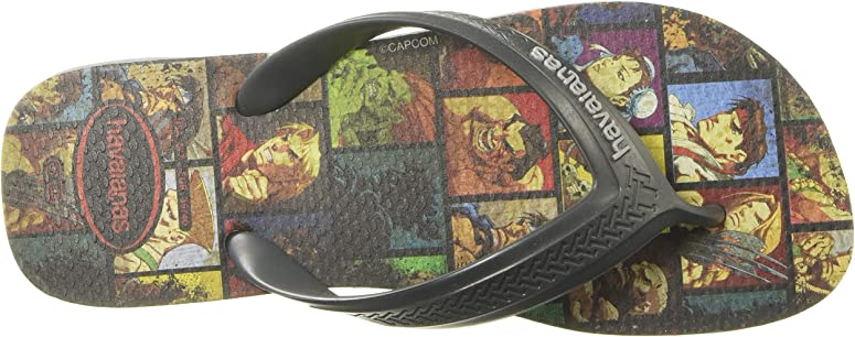 Infradito street fighter unisex-adulto by havaianas 4145634